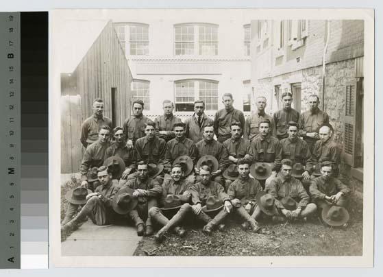 world war 1 soldiers. Portrait of World War I