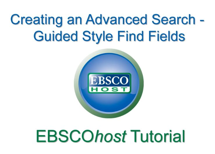 EBSCO screen shot